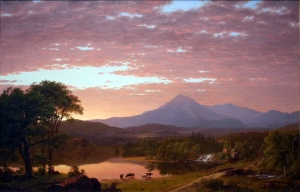 Frederic Edwin Church quadro Sud America