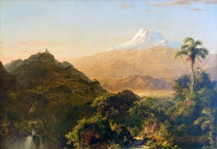 Frederic Edwin Church, Paesaggio sudamericano, 1856