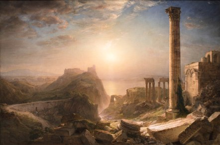 Frederic Edwin Church, Siria dal mare, 1873