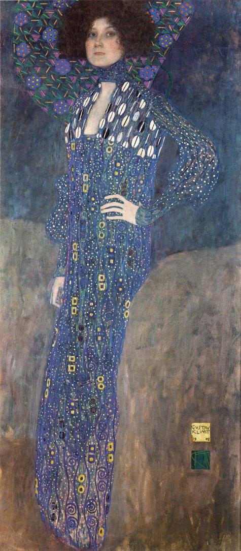 Gustav Klimt, Ritratto di Emilie Louise Flöge, 1902