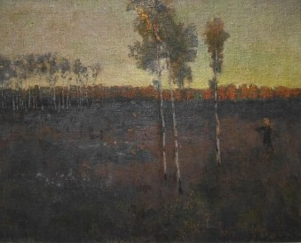 Johann Walter, Camminatore solitario, 1904 circa