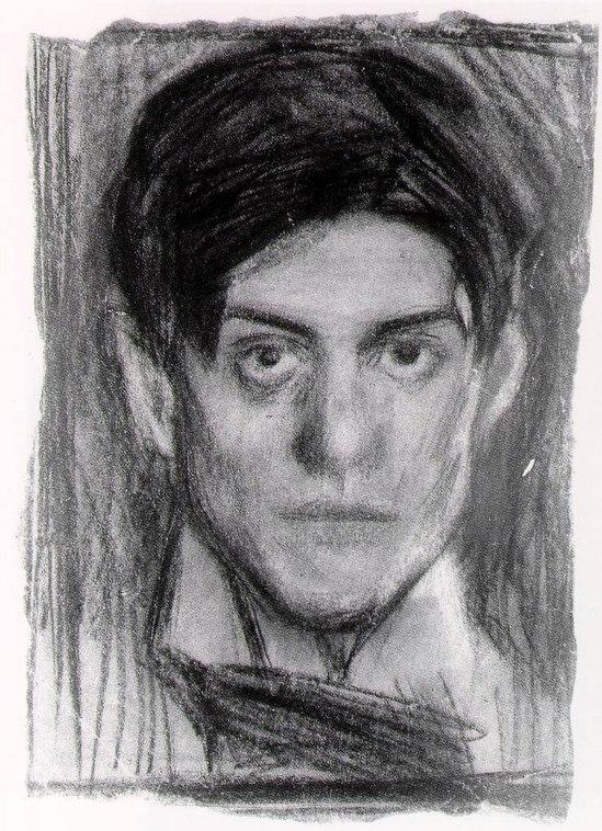 Pablo Picasso, Autoritratto, 1899-1900