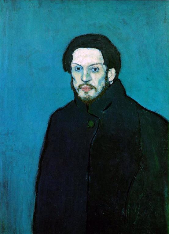 Pablo Picasso, Autoritratto, 1901