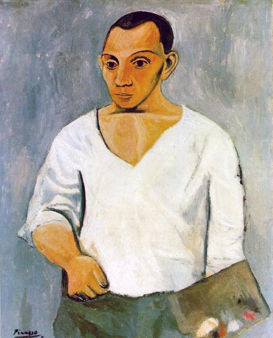 Pablo Picasso, Autoritratto, 1906