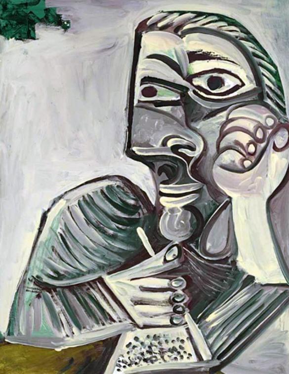 Pablo Picasso, Autoritratto, 1966