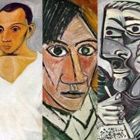 Sette autoritratti per scoprire le metamorfosi di Pablo Picasso