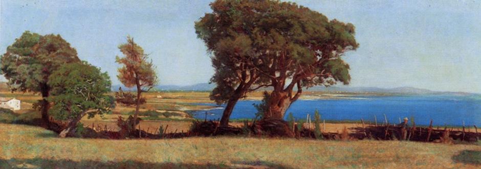 Raffaello Sernesi, Marina a Castiglioncello, 1864 circa