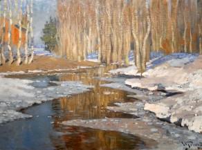 Vilhelms Purvītis, Disgelo, 1907 o prima