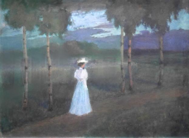 Vilhelms Purvītis, Il silenzio della campagna, 1897-98