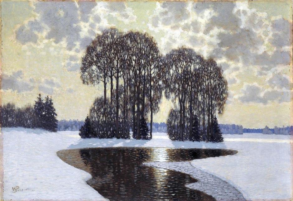Vilhelms Purvītis, Inverno, 1910