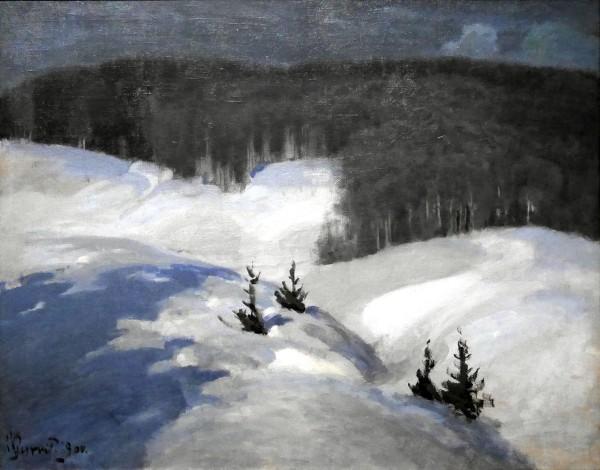 Vilhelms Purvītis, Notte nordica, 1900