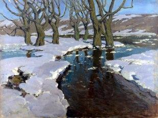 Vilhelms Purvītis, Pavasaris, 1898-99