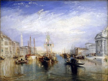 Joseph Mallord William Turner, Il Canal Grande, 1835