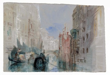 The Rio San Luca alongside the Palazzo Grimani, with the Church of San Luca circa 1840 Joseph Mallord William Turner 1775-1851 Accepted by the nation as part of the Turner Bequest 1856 http://www.tate.org.uk/art/work/D32214