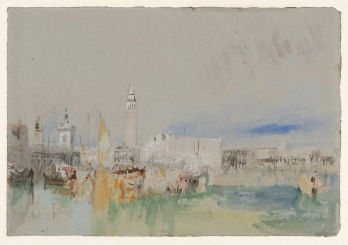 The Dogana, Campanile of San Marco and the Doge's Palace ?1840 Joseph Mallord William Turner 1775-1851 Accepted by the nation as part of the Turner Bequest 1856 http://www.tate.org.uk/art/work/D32205