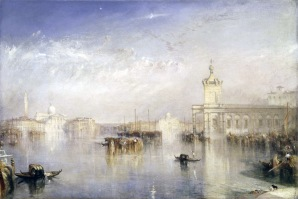 The Dogano, San Giorgio, Citella, from the Steps of the Europa exhibited 1842 Joseph Mallord William Turner 1775-1851 Presented by Robert Vernon 1847 http://www.tate.org.uk/art/work/N00372