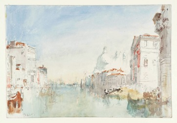 Venice: Looking down the Grand Canal to Palazzo Corner della Cà Grande and Santa Maria della Salute 1840 Joseph Mallord William Turner 1775-1851 Accepted by the nation as part of the Turner Bequest 1856 http://www.tate.org.uk/art/work/D32122