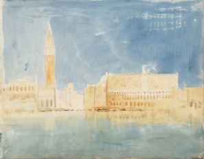 Venice: The Campanile of San Marco and the Doge's Palace 1819 Joseph Mallord William Turner 1775-1851 Accepted by the nation as part of the Turner Bequest 1856 http://www.tate.org.uk/art/work/D15258