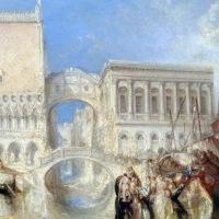 Venezia nelle opere di William Turner: acquerelli e dipinti ad olio