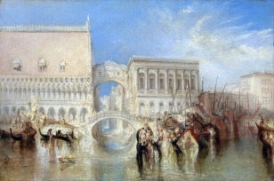 Venice, the Bridge of Sighs exhibited 1840 Joseph Mallord William Turner 1775-1851 Accepted by the nation as part of the Turner Bequest 1856 http://www.tate.org.uk/art/work/N00527