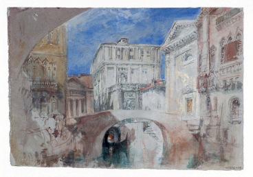 Venice: the Church of San Luca and the Back of the Palazzo Grimani from the Rio San Luca circa 1840 Joseph Mallord William Turner 1775-1851 Accepted by the nation as part of the Turner Bequest 1856 http://www.tate.org.uk/art/work/D32215