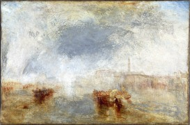Venice - Noon exhibited 1845 Joseph Mallord William Turner 1775-1851 Accepted by the nation as part of the Turner Bequest 1856 http://www.tate.org.uk/art/work/N00541