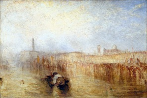 Venice Quay, Ducal Palace exhibited 1844 Joseph Mallord William Turner 1775-1851 Accepted by the nation as part of the Turner Bequest 1856 http://www.tate.org.uk/art/work/N00540