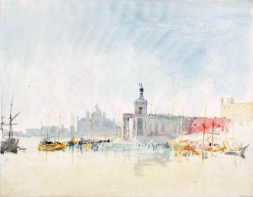 Venice: The Punta della Dogana, with the Zitelle in the Distance 1819 Joseph Mallord William Turner 1775-1851 Accepted by the nation as part of the Turner Bequest 1856 http://www.tate.org.uk/art/work/D15256