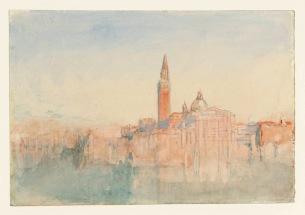 Joseph Mallord William Turner, Venezia, San Giorgio Maggiore al tramonto, dall'Hotel Europa, 1840