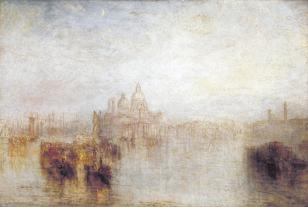 Venice - Maria della Salute exhibited 1844 Joseph Mallord William Turner 1775-1851 Accepted by the nation as part of the Turner Bequest 1856 http://www.tate.org.uk/art/work/N00539