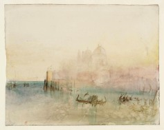 Venice: Santa Maria della Salute from the Bacino 1840 Joseph Mallord William Turner 1775-1851 Accepted by the nation as part of the Turner Bequest 1856 http://www.tate.org.uk/art/work/D32174