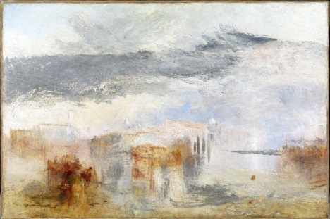 Venice - Sunset, a Fisher exhibited 1845 Joseph Mallord William Turner 1775-1851 Accepted by the nation as part of the Turner Bequest 1856 http://www.tate.org.uk/art/work/N00542