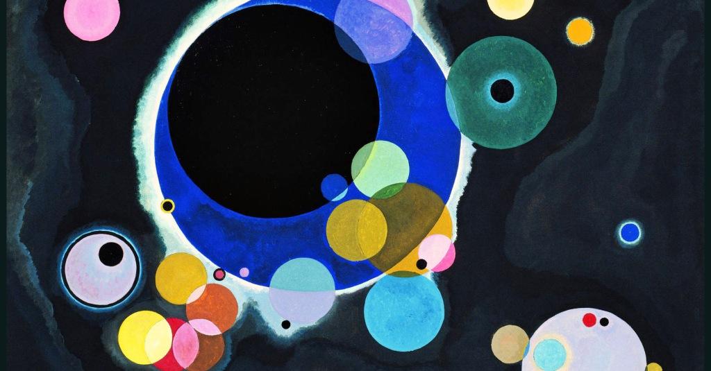 """Un viaggio nell'Astrattismo: cosa racconta l'opera """"Alcuni cerchi"""" di Kandinsky? – La sottile linea d'ombra"""