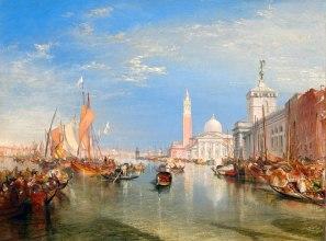 Joseph Mallord William Turner (British, 1775 - 1851 ), Venice: The Dogana and San Giorgio Maggiore, 1834, oil on canvas, Widener Collection