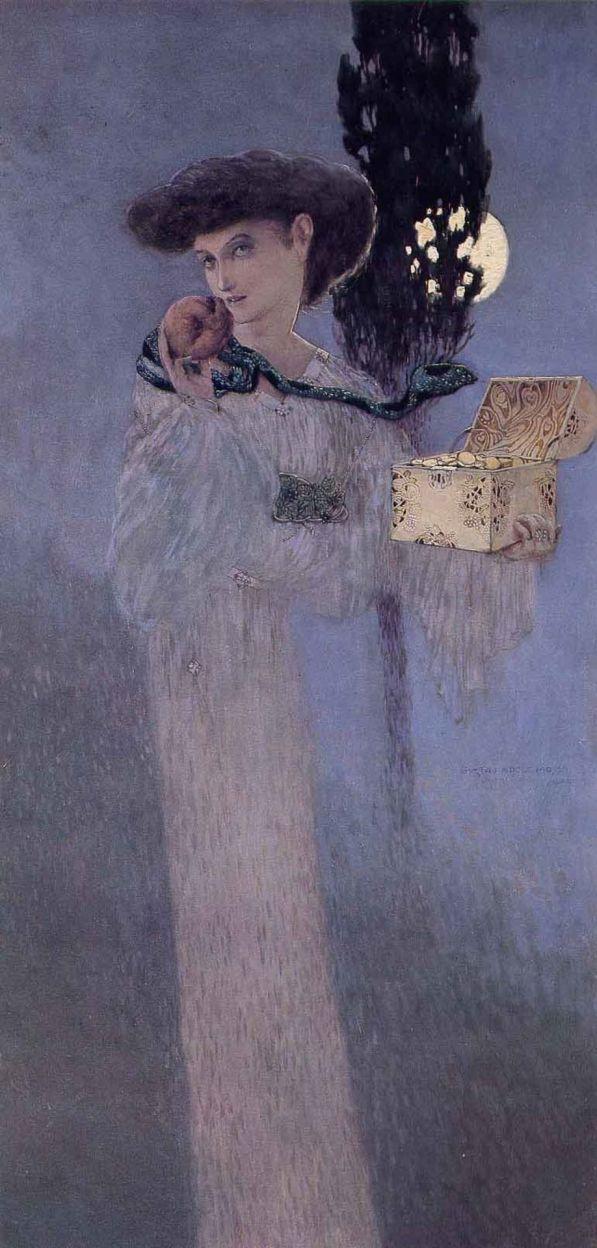 63_gustav adolf mossa, eva pandora, 1907