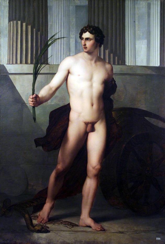 francesco hayez, atleta trionfante, 1813