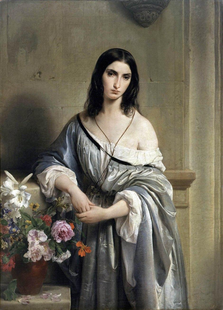 francesco hayez, malinconia, 1840-42