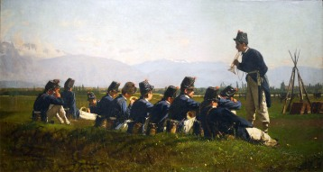 Luigi Nono, La fanfara dei granatieri, 1875
