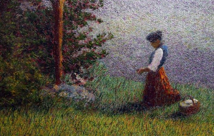 Angelo Morbelli, Ave Maria, 1914-dett1