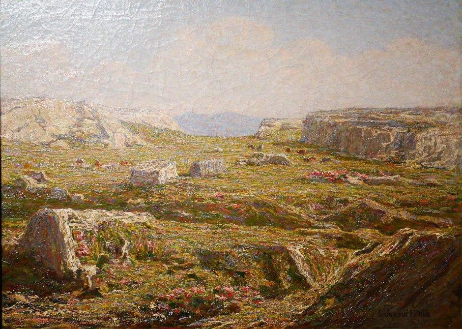 Emilio Longoni, Primavera alpina, 1909