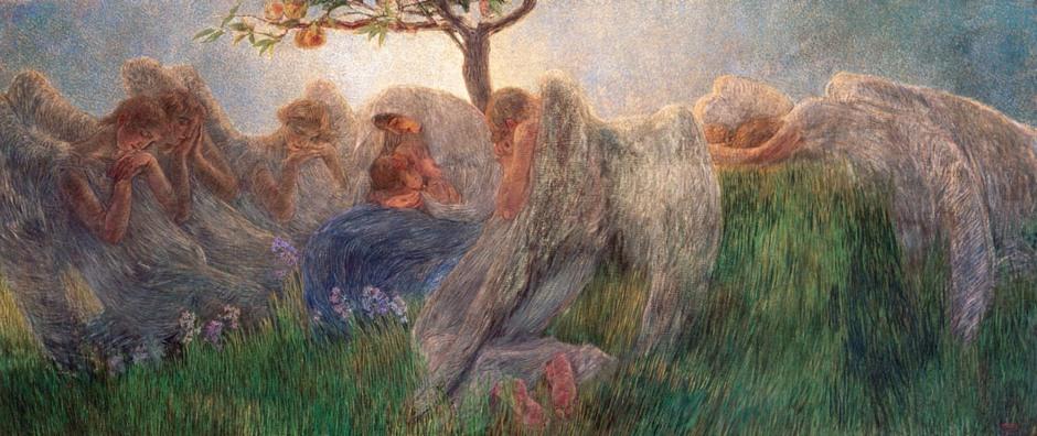 Gaetano Previati, Maternità, 1890-91