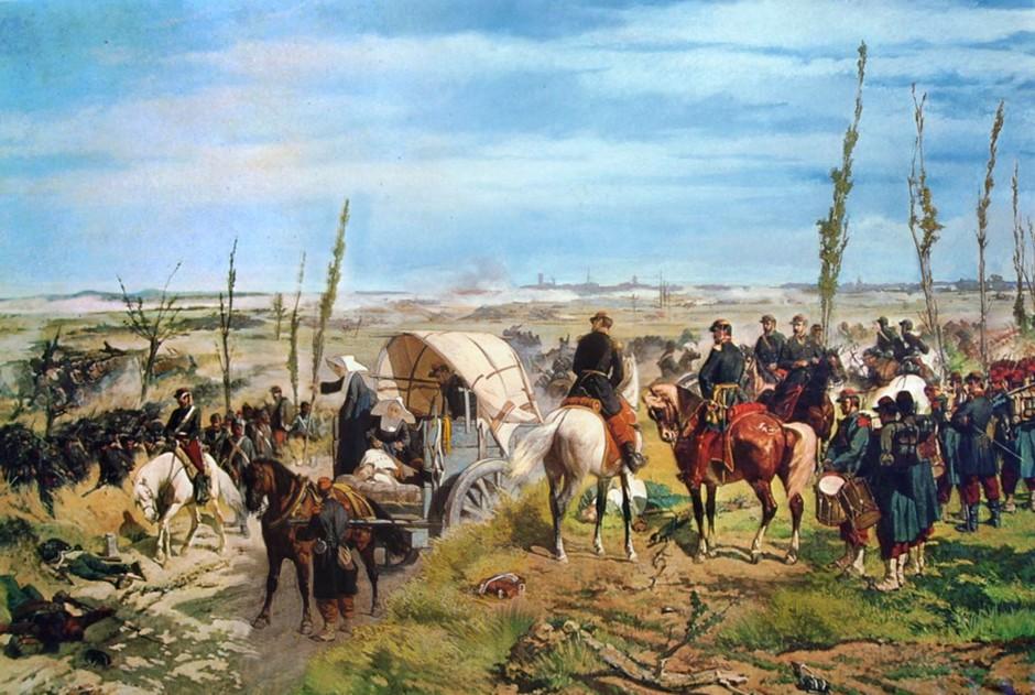 Giovanni Fattori, Il campo italiano alla Battaglia di Magenta, 1861-62