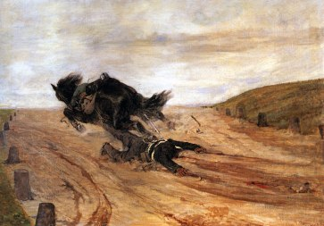 Giovanni Fattori, Lo staffato, 1880