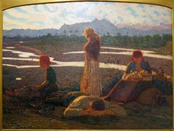 Giuseppe Pellizza da Volpedo, Membra stanche, 1904-05