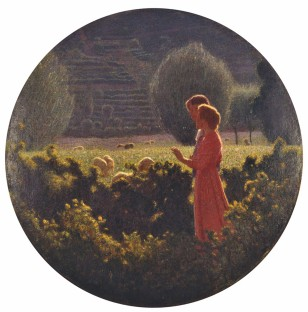 Giuseppe Pellizza da Volpedo, Passeggiata amorosa, 1901-1902