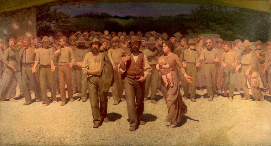 Giuseppe Pellizza da Volpedo, Quarto Stato, 1901