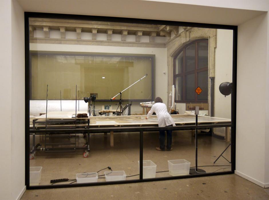 Cartone Raffello - Laboratorio restauro