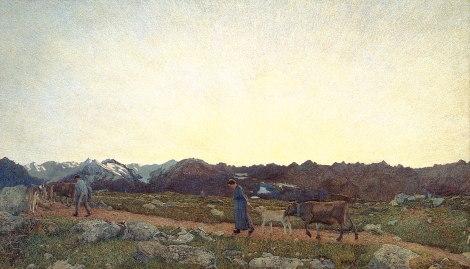 Segantini, La natura (Trittico delle Alpi), 1897-99
