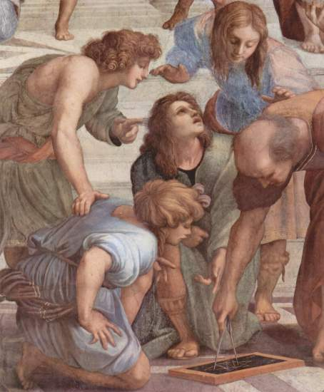 Raffaello Sanzio, La Scuola di Atene - 10