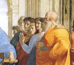 Raffaello Sanzio, La Scuola di Atene - 4